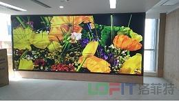 洛菲特商显祝贺上海申通地铁液晶拼接屏项目顺利完工