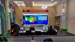 信阳铁塔监控指挥中心拼接大屏案例解析